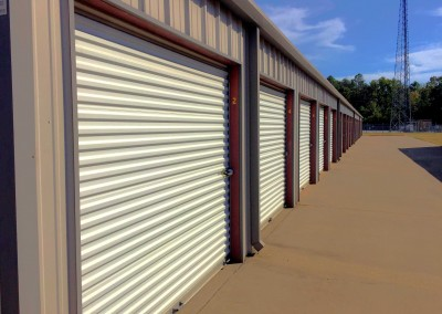exterior metal self storage