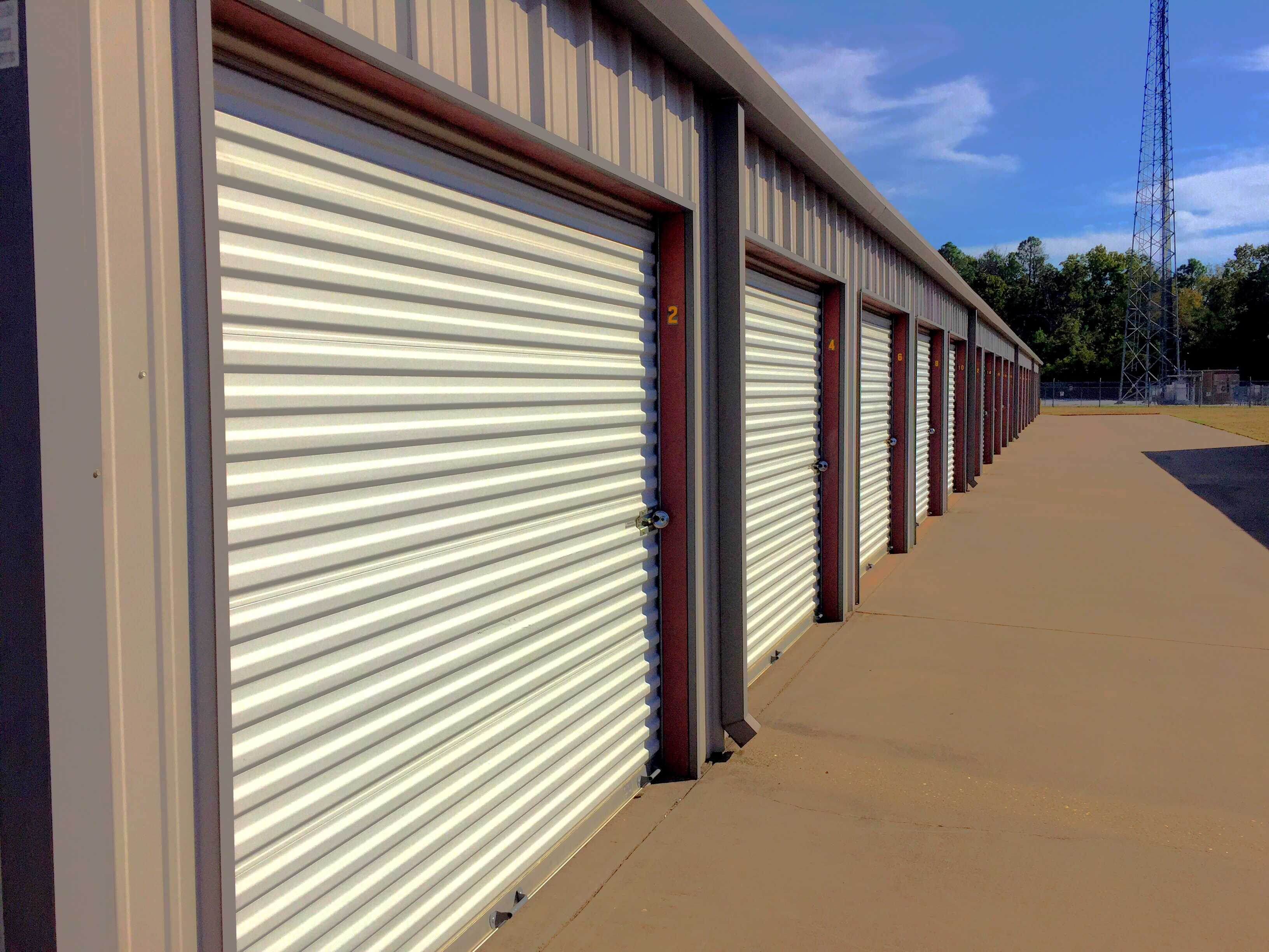 Delightful Exterior Metal Self Storage
